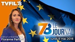7/8 Le Journal – Edition du lundi 9 mai 2016