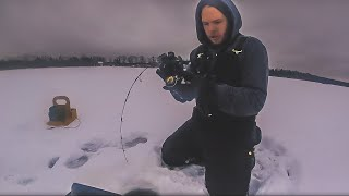 Early Ice Fishing For Monster Fish 2019