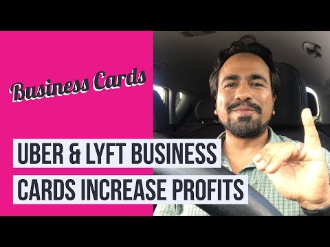 Lyft Business Cards >> Uber And Lyft Business Cards To Increase Profits And Earn