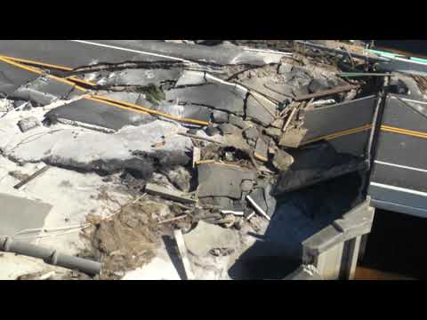 Mexico beach fl hotel damage