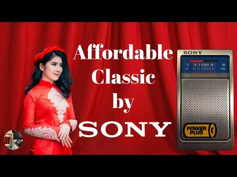Money Saver Sony ICF-200W AM FM Classic Portable Radio Review