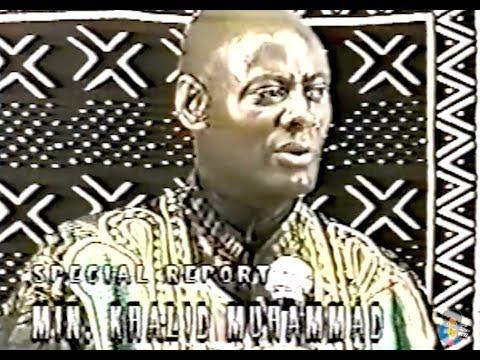 Mhenga Khalid Muhammad - Religion Vs. Spirituality [1997]