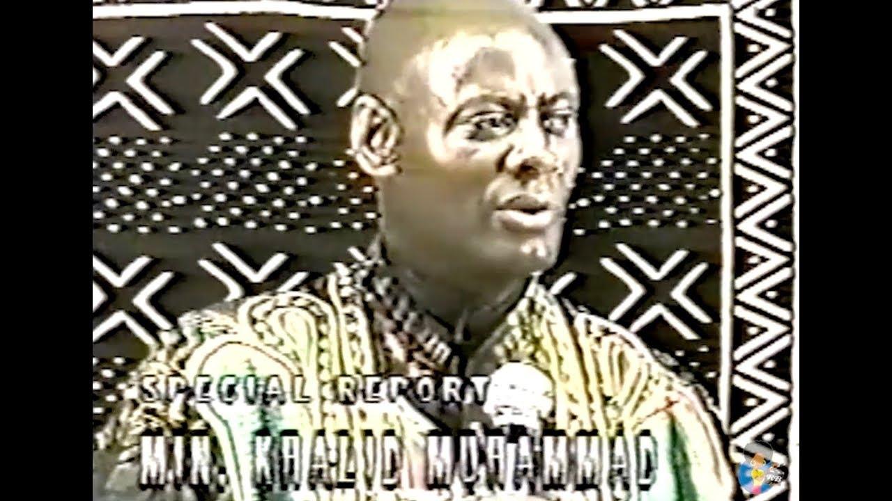 Khalid Muhammad - Religion Vs. Spirituality (1997)