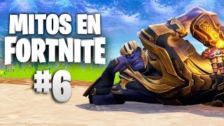 ¿Puede Thanos usar una Plataforma de lanzamiento? - Mitos Fortnite - Episodio 6 #MitosFortnite