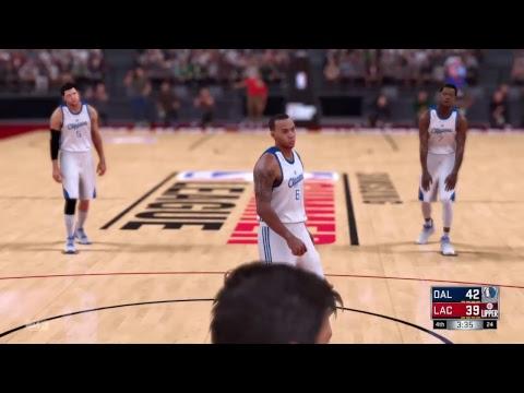 NBA 2K17 SUMMER league TOURNAMENT MAVERICKS VS CLIPPERS