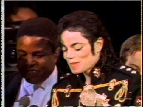 Michael Jackson &The Jackson 5 Rock and Roll Hall of Fame 1997