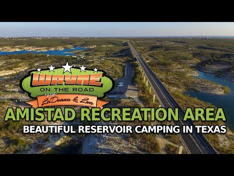Our Stay At Amistad Recreation Area, Del Rio Texas