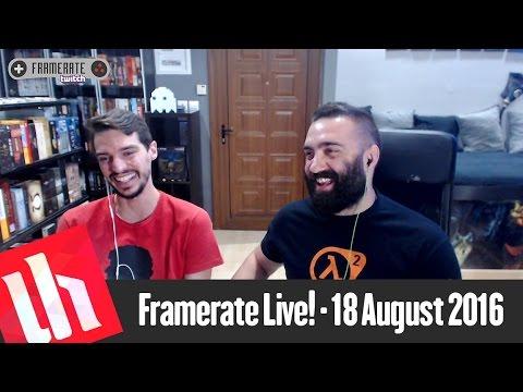 Framerate Live | Gamescom 2016 Special