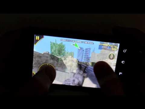 Huawei u8800/ ideos x5 modern combat gameplay