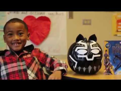 Mather Heights Elementary Pumpkin Art
