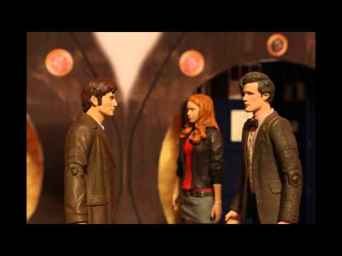 Doctor Who Figure Spoof: The Doctor wants to punch somebody...