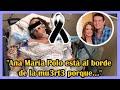 """El hijo de Ana María Polo sollozó al revelar: """"Ana María Polo está al borde de la mu3rt3 porque..."""""""