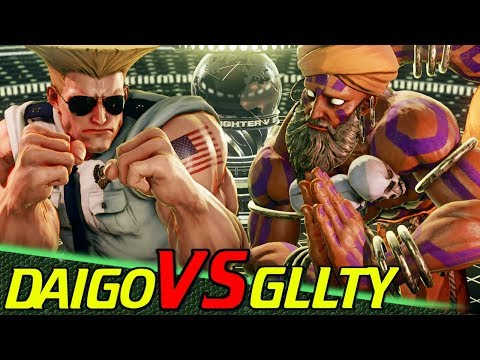 SFV ▶ Daigo vs Gllty【Street Fighter V】 |