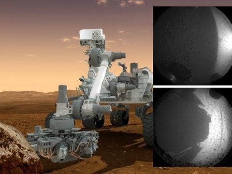 CURIOSITY HAS LANDED! First Images From Mars