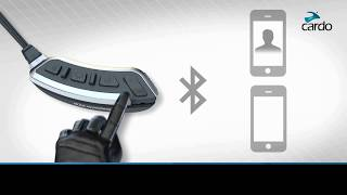 How to set the default phone on the Cardo SHO-1