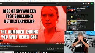Rise Of Skywalker Test Screening DISASTER | People Reportedly Walked Out Angry!