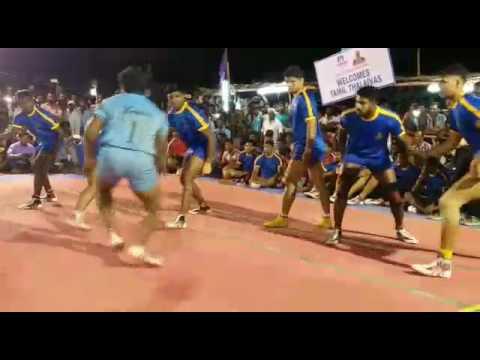 TAMIL THALAIVAS PRO  Kabaddi Team vs TIRUPUR dt Team