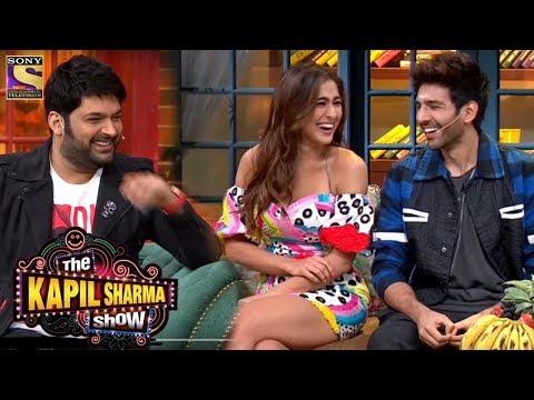 Sara Ali Khan-Kartik Aaryan Jabardast Comedy in Kapil Sharma Show   Love Aaj Kal Promotion