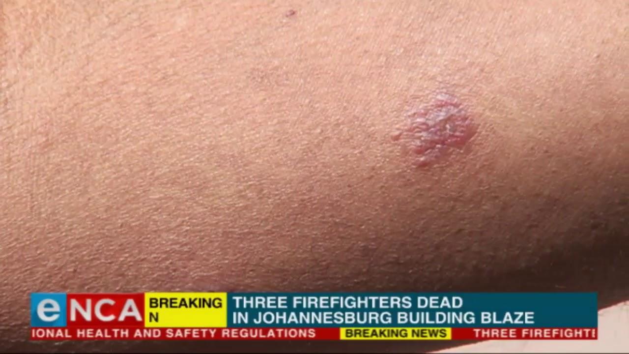 Sombre mood in JHB CBD following building blaze deaths