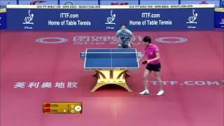 【中国OP2016】女子シングルス準決勝 丁寧(中国)vs陳夢(中国)