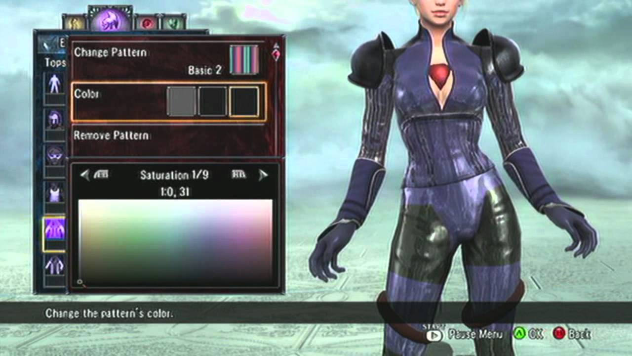 Soul Calibur V Creation Jill Valentine Resident Evil 5 Battle Suit