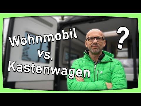 Wohnmobil oder Kastenwagen? Unsere Meinung