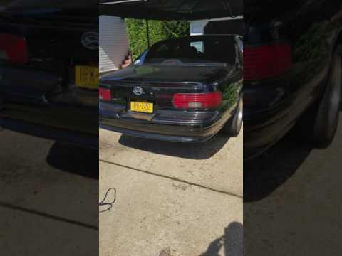 1996 Impala SS straight pipe