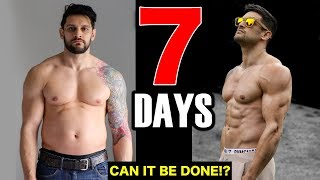 7 DAY BODY TRANSFORMATION CHALLENGE | RAW Physique Update After Cheating! (Lex Fitness)