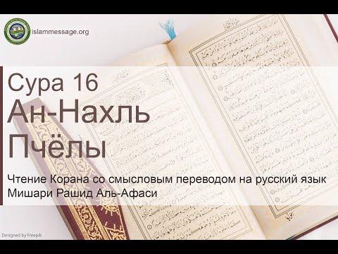 Коран Сура 16 ан-Нахль (Пчёлы) русский   Мишари Рашид Аль-Афаси