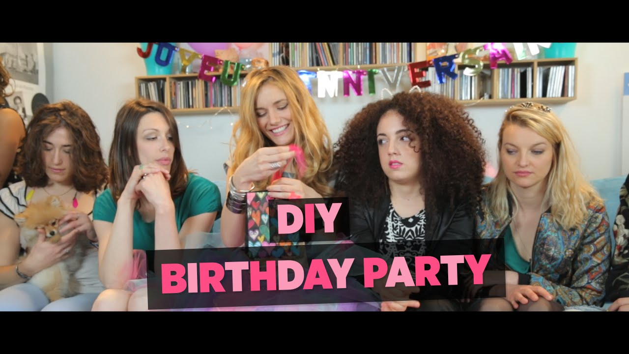 Birthday Party DIY YouTube