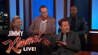 """Robert Downey Jr. Has the Avengers """"A"""""""