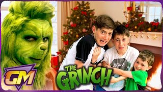 The Grinch Pranks Kids!! - The Night Before Christmas.. 🎅By Gorgeous Movies