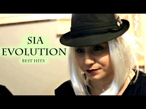 Sia Evolution - Best Hits | Chandelier, Cheap thrills, Alive and more... | (Swan Music cover)