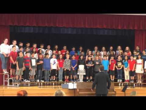 2015 Harnew Elementary School concert 5th grade