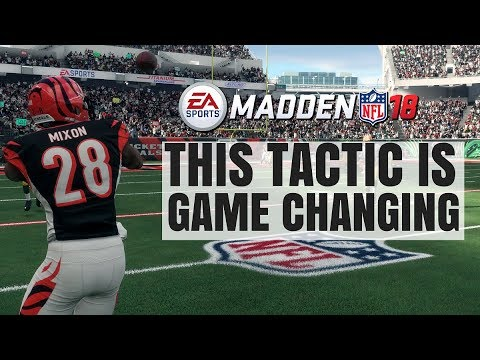 Madden 18 Pro Tip: Game Changing Offensive Tactic