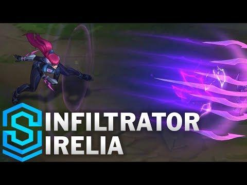 Infiltrator Irelia (2018) Skin Spotlight - League Of Legends