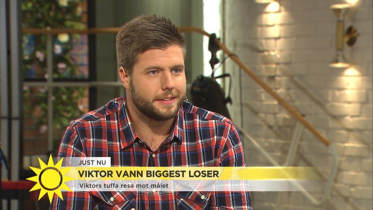 Viktor vann Biggest loser: Så gick han ner 78 kilo  - Nyhetsmorgon (TV4)