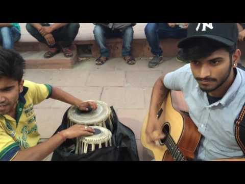 Yaman played at central park @ CP,Delhi (lag ja gale)