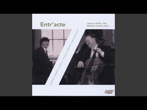 Sonata For Piano And Cello In G Minor, Op. 19: III. Andante