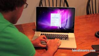 Unboxed: NEW 17' MacBook Pro (2011)