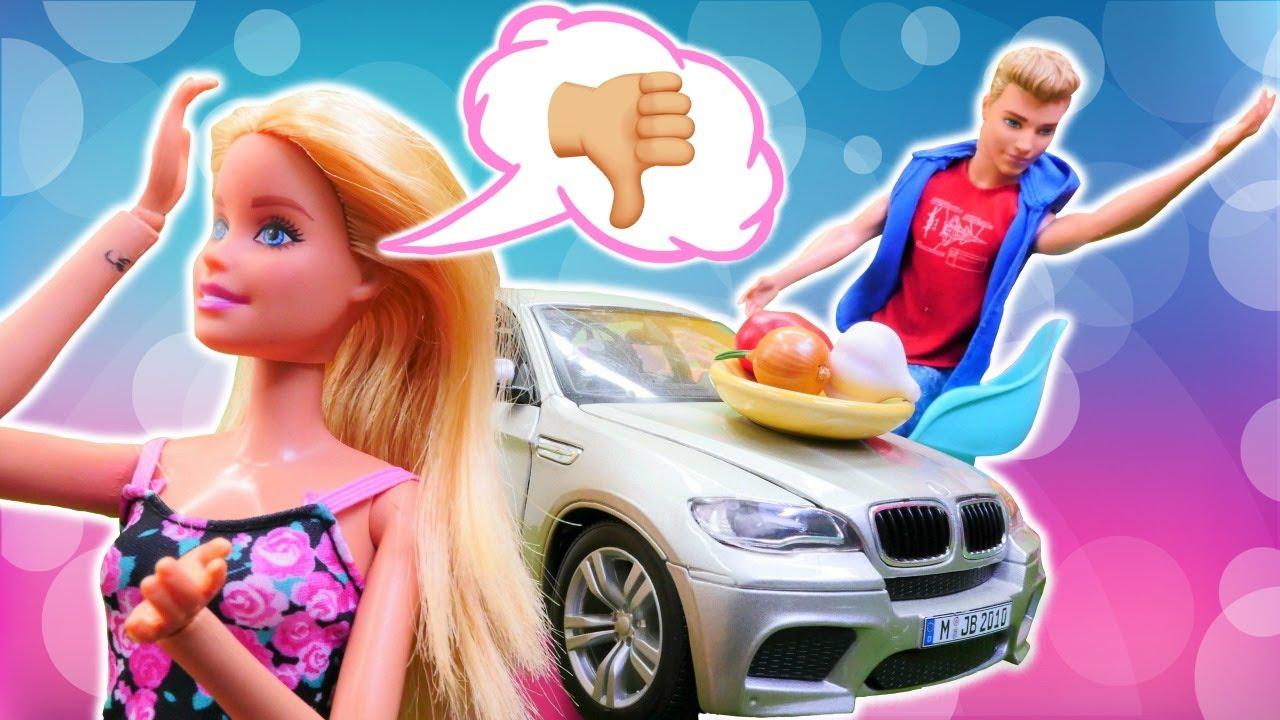 La peor cita de Barbie con Ken. Vídeos de Barbie en español. Vídeos para niñas