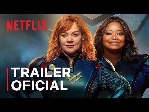 Esquadrão Trovão   Melissa McCarthy e Octavia Spencer   Trailer oficial   Netflix