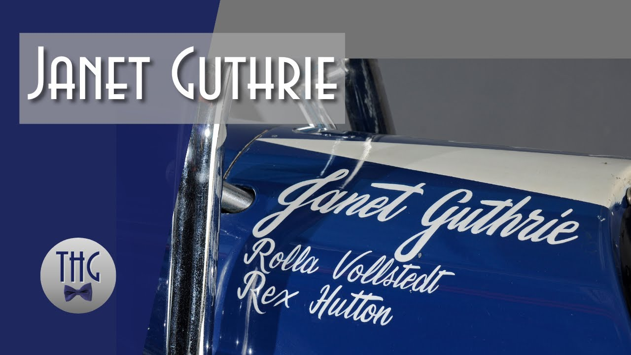 Janet Guthrie: If Your Desire is Strong Enough, Anything is Doable
