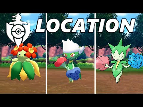 Pokemon Sword And Shield: How To Catch & Find Bellossom, Roselia, And Roserade