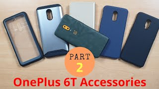 Best Protective Drop Proof Back Case Cover OnePlus 6T !!!