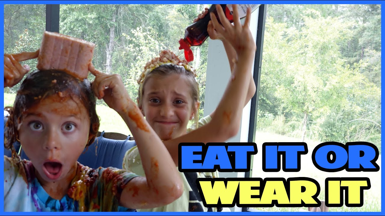 Eat It Or Wear It Challenge Smellybellytv Youtube
