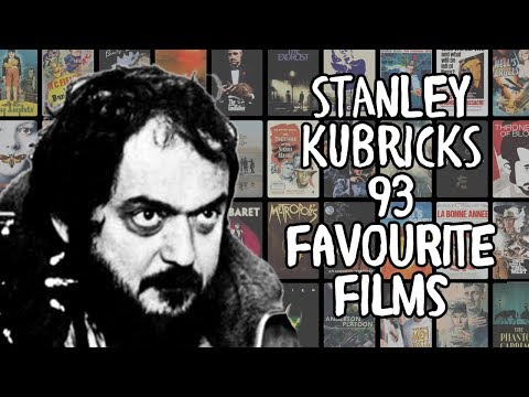 Stanley Kubrick's 93 Favourite Films