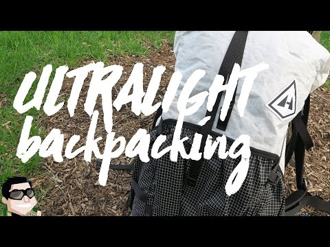 Ultralight Backpacking Tips & Gear List
