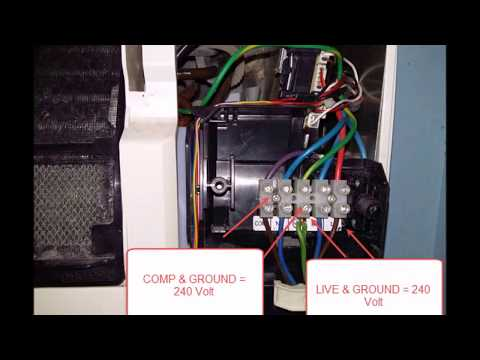 DIY fix York Air conditioner motor fan stuck - orange LED flash