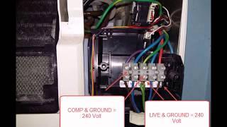 DIY fix York Air conditioner motor fan stuck - orange LED flash